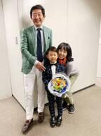 東尾理子、夫と長男・理汰郎くんの仕事にドキドキ「息子なりに頑張ってました」