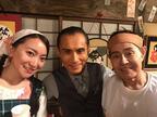 加藤茶夫婦との『警視庁ゼロ係』オフショットを公開「貴重なスリーショット!!」