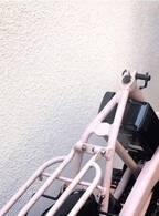 浜田ブリトニー、サドル盗難&ハンドルとカゴが壊された自転車が無事に直ったことを報告