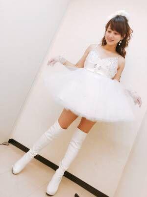 渡辺美奈代『80年代アイドルフェス』でのミニスカ衣装を公開「素敵」「永遠のアイドル」の声