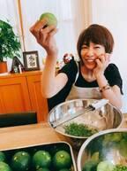 堀ちえみ、松居直美と自宅で柚子胡椒作り「ありがとう。感謝です」