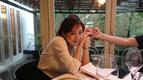 高橋英樹、娘・真麻夫婦と一緒に食事「子供時代を  思い出す表情」