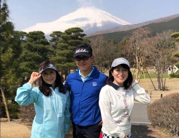 """薬丸裕英、""""はなまる""""仲間の岡江久美子らとゴルフ「みんなで盛り上がりました」"""