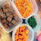 遼河はるひ、夫に用意した作り置き料理公開「切るのも味付けも簡単なものだけ」