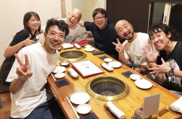 よしお兄さん、浅井企画の先輩とどぶろっくのお祝い「とーっても優しい先輩方です」