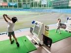 東尾理子、長女がゴルフ練習に初挑戦「素晴らしい」「凄い」の声