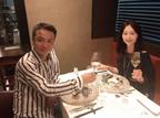 白城あやか、夫・中山秀征と結婚記念日ディナーへ「さあ22年目 突入」