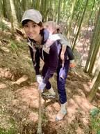 飯田圭織、家族でタケノコ掘りへ「ママは重労働です笑笑」