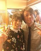 城咲仁、吉田沙保里さんのパーティー打ち上げで2ショット「選手としての33年間お疲れ様でした」
