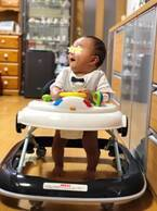 本田朋子アナ、夫・五十嵐圭の実家に子連れ帰省「じいじに歩行器を買ってもらいご機嫌」