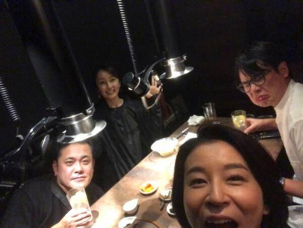 矢田亜希子、くりぃむ有田らと収録後に焼き肉へ「楽しすぎて面白すぎて最高」
