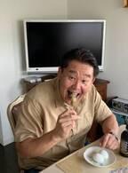 花田虎上、実家に立ち寄り子ども達と軽い昼食「家族団らん」「美味しそう」の声