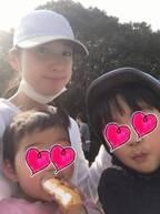 飯田圭織、子ども達との忙しい春休みを振り返る「本当に大変でしたぁ、、」