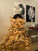 武田久美子、飾りつけしたクリスマスツリーを公開し「ステキ」「上品」の声