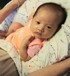 小原正子、もう新生児ではない長女「たしかに体つきがもう しっかり」