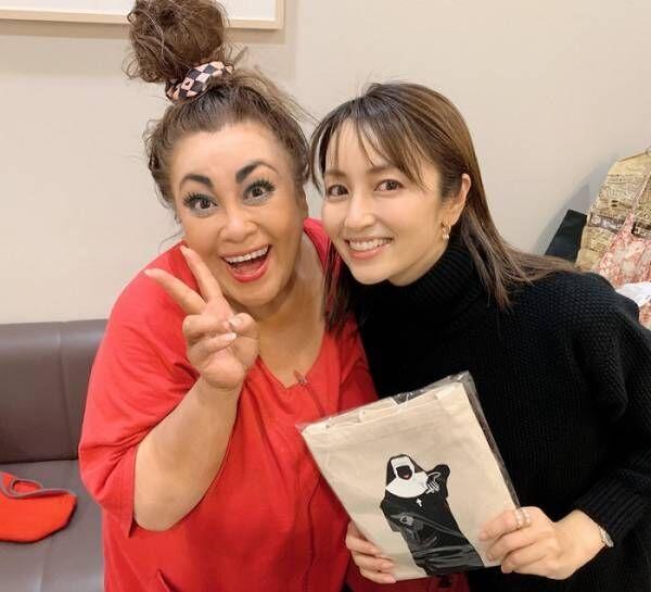矢田亜希子、観劇し森公美子との2ショット披露「パワーに圧巻」