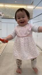 東尾理子、次女のアレルギー検査を報告「肌荒れがイマイチ良くならない…」