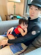 浜田ブリトニーの夫・いわみん、沖縄で娘と断念した海水浴「全然ニュースを見てなかった」
