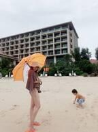 アレク、妻・川崎希に沖縄旅行の費用を尋ねる「のんちゃんは中々お金の事言いたがらないからね」