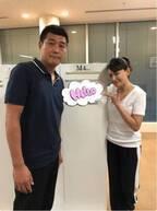 """田中美奈子、夫との""""スポーティー""""な2ショットを公開「ちょっと体育の先生入ってるかなぁ」"""