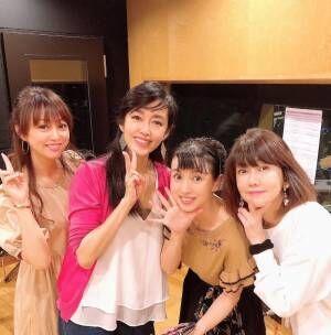 早見優、渡辺美奈代らとの80年代アイドルショットを公開「半端ない」「若い」の声