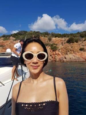 中村江里子、バカンスの様子を明かす「この夏はフランス国内で過ごしました!!」