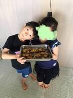 市川海老蔵、息子・勸玄くんが芋けんぴを手作り「器用」「美味しそう!」の声