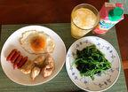 花田虎上、朝食で久々に食べたメニュー「前までは一袋を一人で」