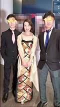 河野景子さん、着物をリメイクしたドレス姿を公開「長年眠っていた物が、大活躍です」