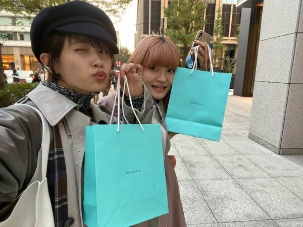 高橋愛、妹とティファニーで購入したお揃いの物「また宝物が増えました」
