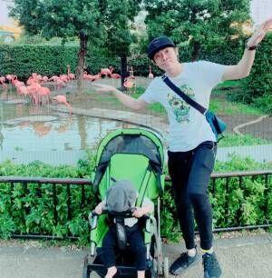 よしお兄さん、娘と一緒に動物園へ行くも「お客さんを見て喜んでました…笑」