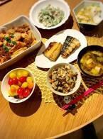 小川菜摘、家族の為に作った夕食を公開「いただきま~~す」