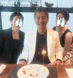 パンチ佐藤、家族で1週間早い父の日のお祝い「銀座で 娘にゴチに」
