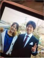 上田まりえ、夫・竹内大助氏が成人式を迎えたときの2ショット公開「感慨深いものがあります」