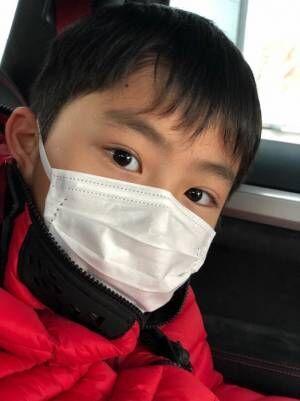 市川右團次、注射を怖がる息子を連れ病院へ「よく頑張った」