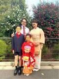 金子貴俊、娘の七五三で家族写真を公開「これからも健やかに安全にそれなりに過ごせるように」