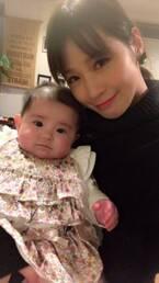 相沢まき、娘の太り過ぎを心配「1ヶ月の頃と比べると別人」