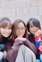 瀬戸朝香、榎本加奈子&相川七瀬と久々にランチ「盛り上がっちゃいました」
