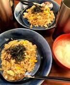 ニッチェ・江上、もらった玉ねぎを大量に使い朝食作り「甘みが出て美味しいんだよねぇ~」