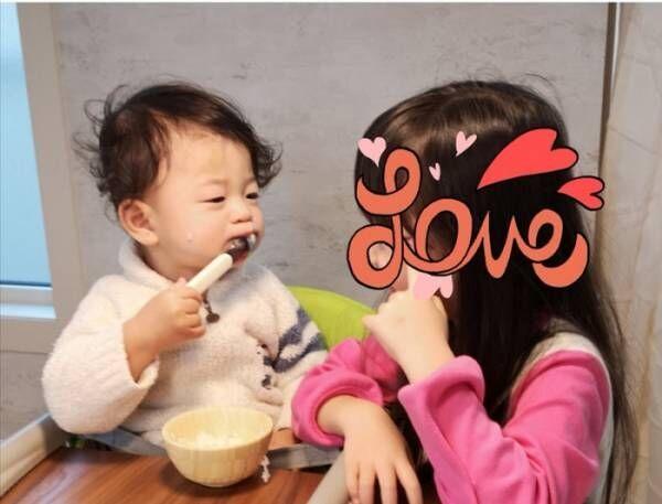 蛯原英里、朝食時の子ども達の様子にほっこり「2人でケラケラ笑っていたり」