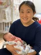 キンタロー。産後ケア施設を退院し号泣する娘「早くも環境が変わったことに気付いたのか」