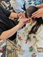 蛯原英里、娘と一緒に美容院で髪を切ったことを報告「さっぱり出来て嬉しい~!」