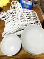 """北斗晶、100均で""""大量買い""""したアイテムを紹介「それと、パパが全部割ってくれたスープ皿」"""