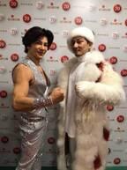 ISSA、共演した武田真治との2ショット公開「カッコイイ」「仲良し」の声