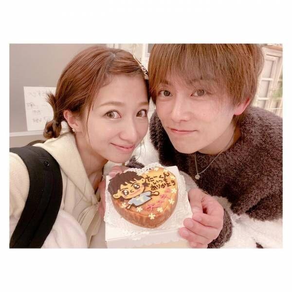 辻希美、夫・杉浦太陽への手作りバレンタインケーキを公開「凄い喜んでくれて」