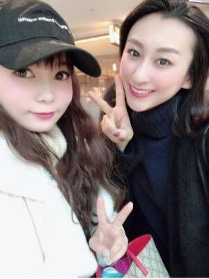 中川翔子、浅田舞とランチへ行き2ショット公開「美女すぎて感動」