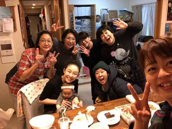 小原正子、相方・くわばたりえや森三中らと子連れパーティー「素敵な関係」「このメンバーに入りたい!」の声