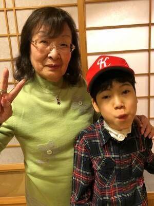 野田聖子氏、息子と祖母が久々の再会を果たす「ばあば孝行、大成功!」