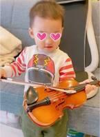 """保田圭、2歳になった息子に""""憧れの楽器""""をプレゼント「完全に私のエゴですが」"""