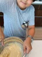 つんく♂、長男が自宅でアレルギー対応のパンケーキ作り「お店に行くのは中々足が重い」